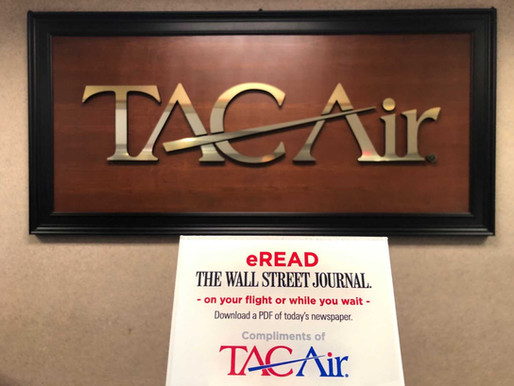 TAC Air and The Wall Street Journal Launch Digital Newspaper Distribution for Business Aviation Exec