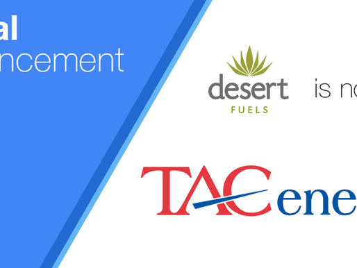 TACenergy Acquires New Mexico Based Wholesale Fuel Distributor, Desert Fuels