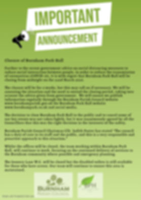 Copy of Important announcement flyer tem
