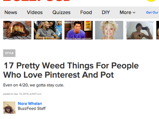 BuzzFeed: 17 Pretty Weed Things For People Who Love Pinterest And Pot