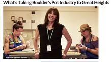 Entrepreneur: What's Taking Boulder's Pot Industry to Great Heights
