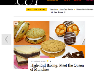 "New York Magazine: ""High-End Baking: Meet the Queen of Munchies"""