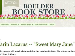 Karin Lazarus Book Signing in Boulder