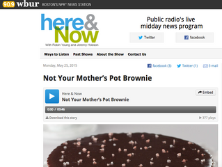 NPR: Not Your Mother's Pot Brownie