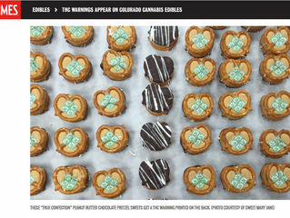 High Times: THC Warnings Appear On Colorado Cannabis Edibles