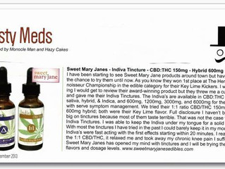 Sweet Mary Jane featured in the Hemp Connoisseur