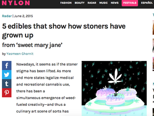 NYLON: 5 edibles that show how stoners have grown up