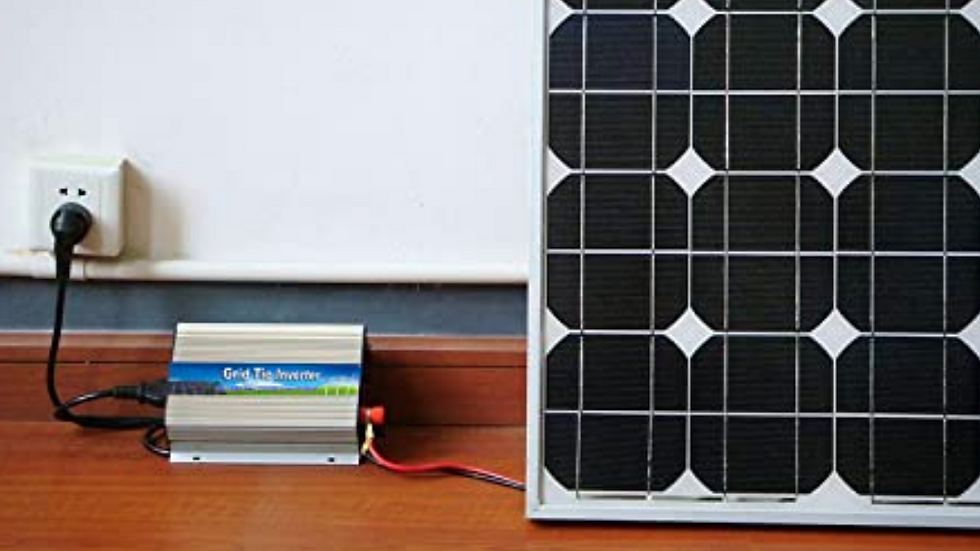1000 Watt Solar Grid-tIe Kit