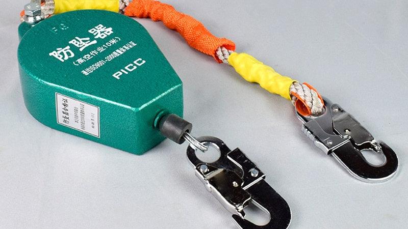 Self Retractable Lifeline Locking Device 3~50m Fall Protector