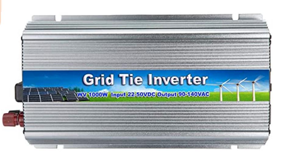 1000 Watt, 110 Volt, MPPT Grid-Tie Inverter
