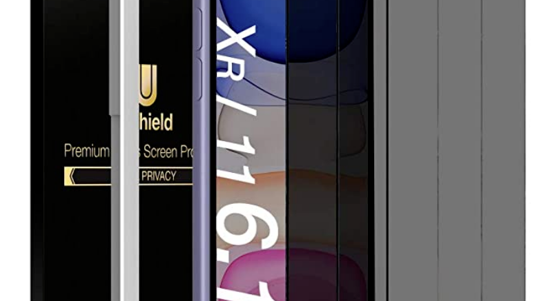 """iPhone 11 (6.1"""") / XR Privacy Screen Protector (3Pk)"""