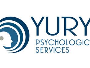 Welcome Dr. Craig Yury