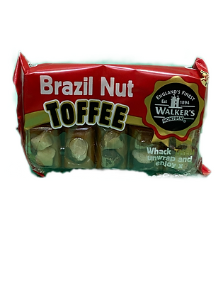 Walkers nonsuch Brazil Nut Toffee Bar
