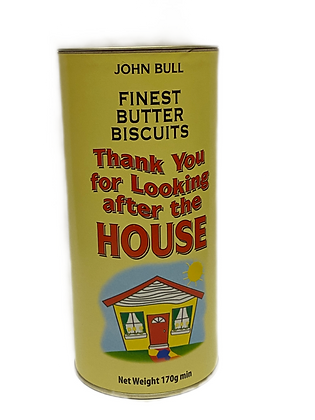 Thank You for Looking After the House Butter Biscuits