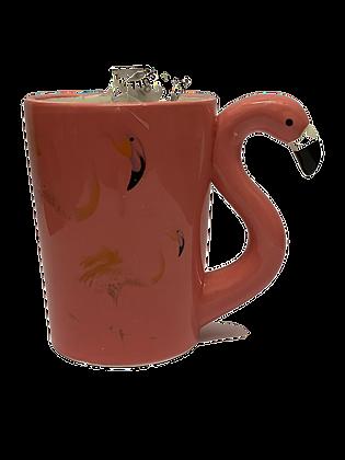Flamingo Mug & Fudge
