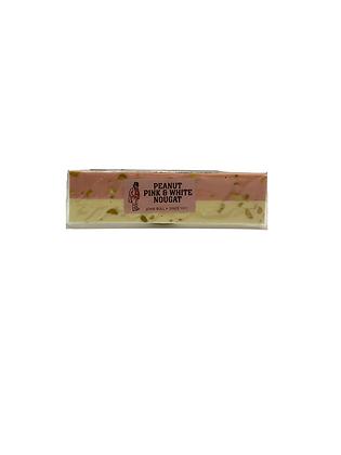 Peanut Pink & White Nougat Bar