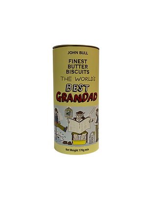 Worlds Best Grandad Butter Biscuit Tin