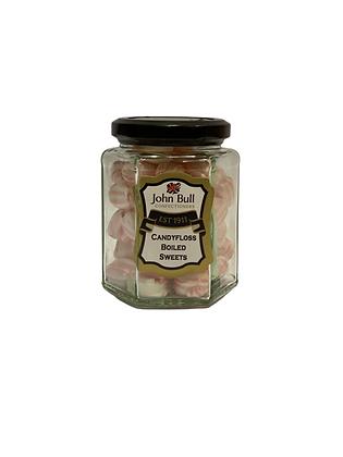 Candyfloss Hexi Jar