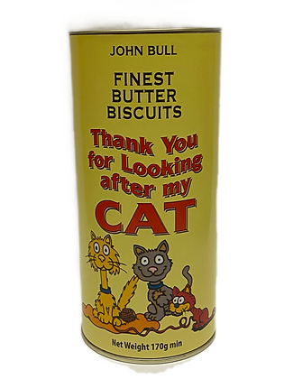 Thank You for Looking after the Cat Butter Biscuits