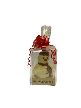 Belgian Choc Snowman