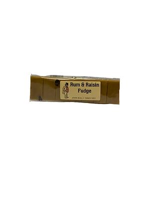 Rum & Raisin Fudge Bar