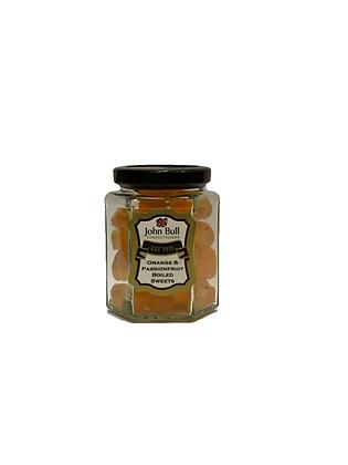 Orange & Passionfruit Hexi Jar