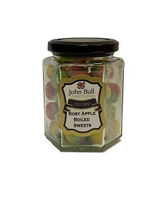 Rosy Apples Hexi Jar