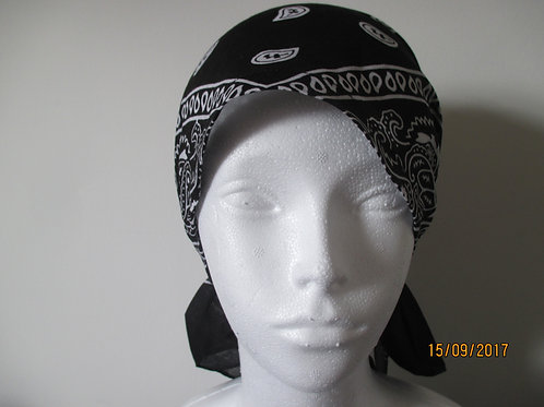 Bandanna Style Bonnet