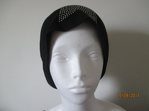 Soft Knit Beanie with Star Design