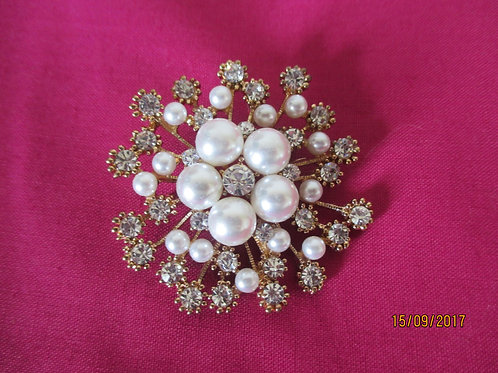 Large and Very Striking Brooch