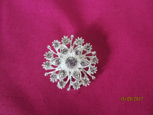 Lovely Diamante Brooch