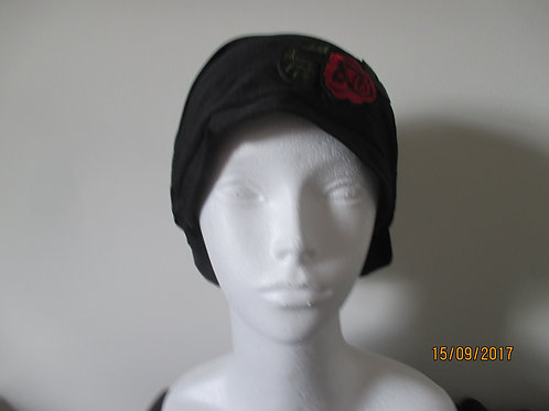 Rose Decorated Beanie