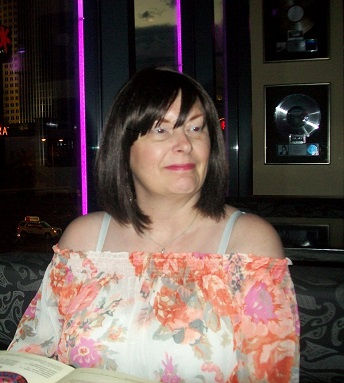 THis is me in Vegas post treatment