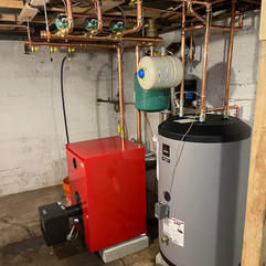 Boiler with Indirect Hot Water