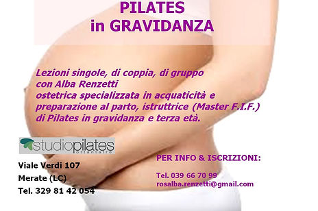 Pilates in gravidanza - studio pilates.J