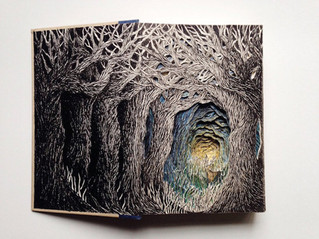 Libros convertidos en obras de arte