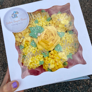 Boxed Yellow Bouquet