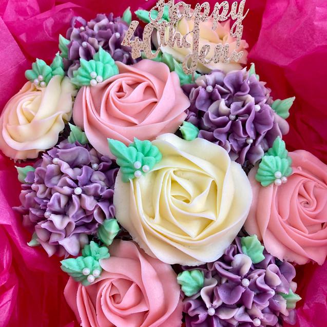 10 Cupcakes Bouquet