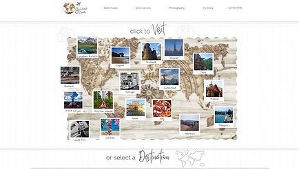 Sarina Seeks Destinations Page