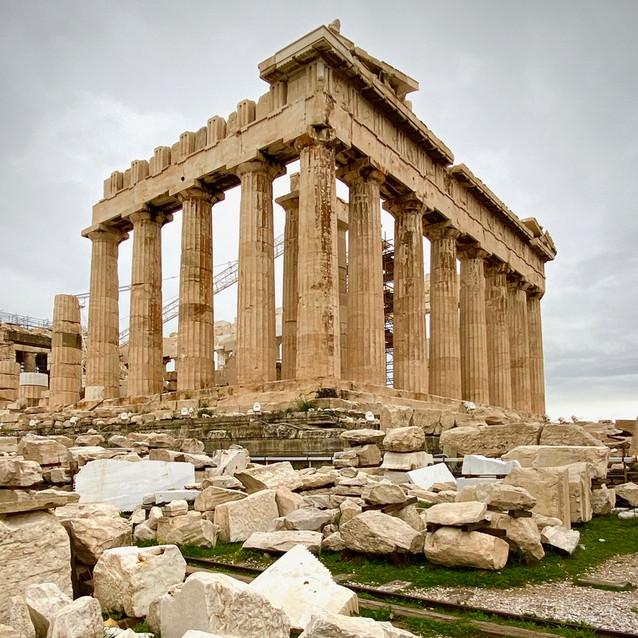 Gloomy Acropolis