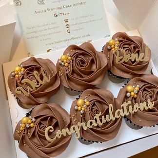 Decadent Chocolate Elegant Cupcakes