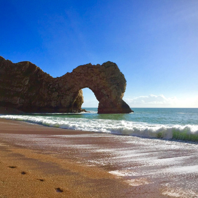 Walks Along Durdle Door