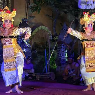 Traditional Legong Dancing
