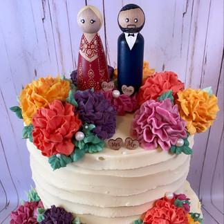 Marigold Wedding Cake