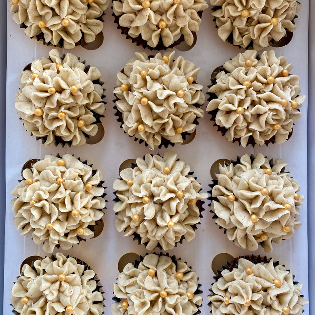 Gingerbread Spice Cupcakes