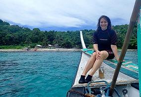 Sarina Seeks Scuba Diving, Puerta Galera, Philippines
