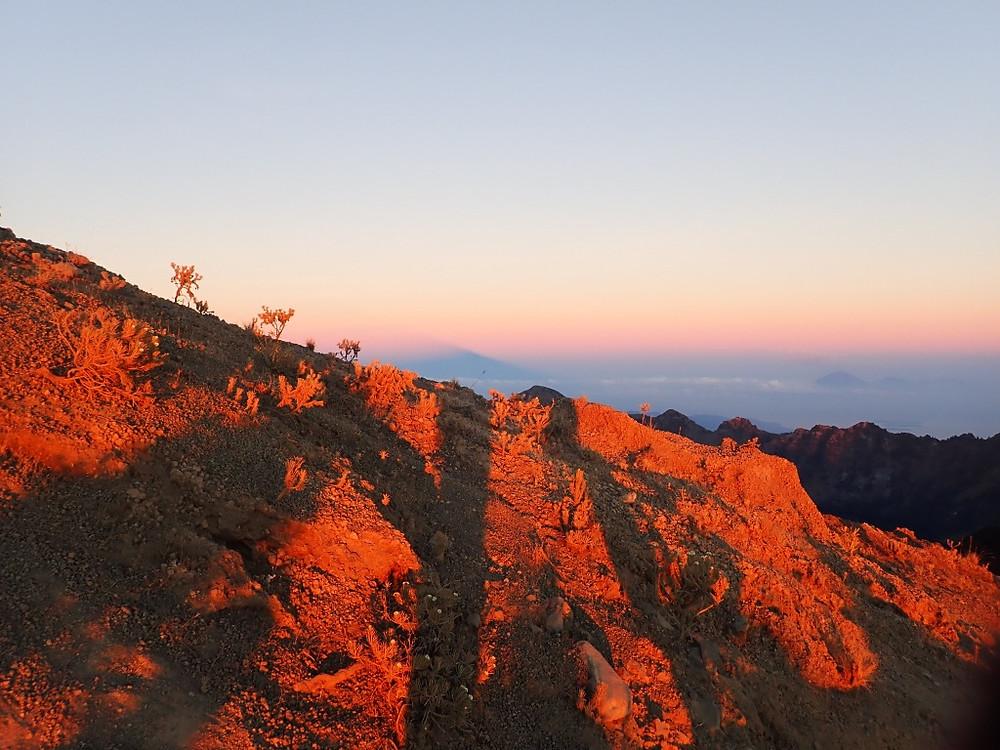 Sunrise, Gunung Rinjani, Indonesia