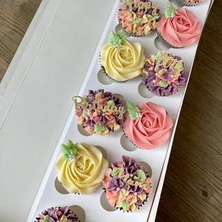 Dozen Florals 80th Birthday