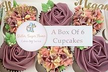 6 Cupcakes Gift Card Photo