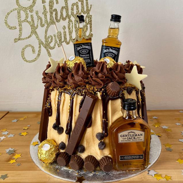 Butter, Sugar, Flower Jack Daniels Cake.jpeg